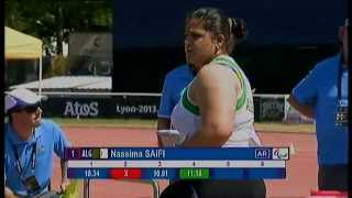 Athletics - Nassima Saifi - women