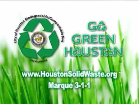 City of Houston Compostable Bags, Spanish Video(We're Doing It)