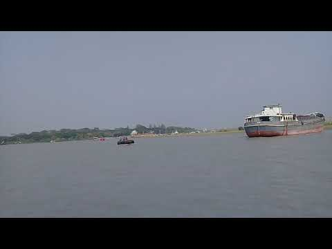 The Port of Mongla is the second busiest seaport of Bangladesh (মংলা সমুদ্র বন্দর)
