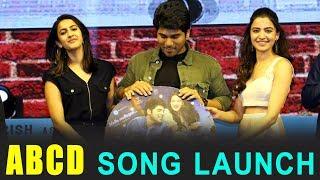 ABCD Movie First Song Launch   Allu Sirish   Sid Sriram   Mella Mellaga Song Launch