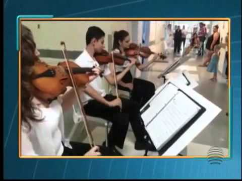 22/01/2016 - TV Fronteira SPTV - Orquestra de Câmara do Oeste Paulista
