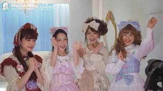 BIGO LIVE Japan - GIRLISM Lolita Theme Cover Shooting