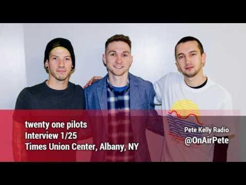 twenty one pilots Interview with Pete Kelly - Jan 25, 2017