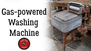 Gas-Powered Antique Washing Machine [Restoration]