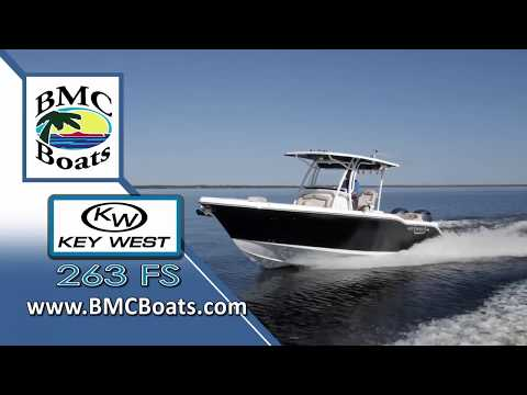 2019 Key West 263 FS Best Selling Center Console Fishing  Boat: Test And Walk-Through, By BMC Boats