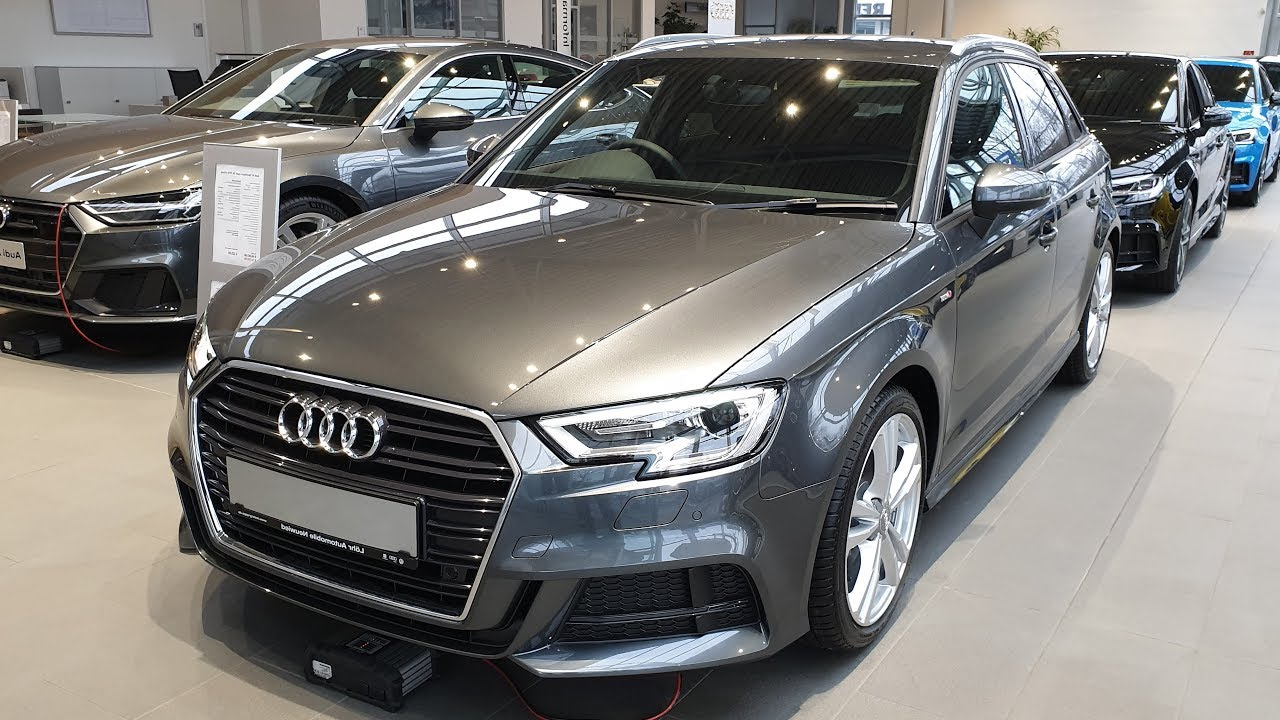 2019 Audi A3 Sportback Sport 35 Tfsi 150hp Visual Review Youtube