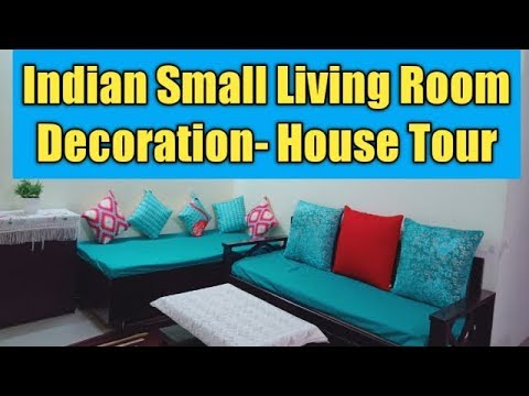 Small Indian 2019 Living room Makeover in Budget/Living Room Decor idea | House Tour 2019