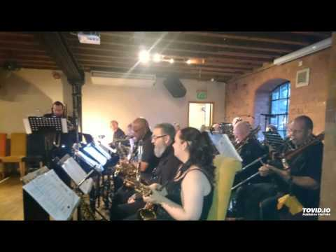 Beeston Big Band live at Canal House Nottm 23rd Apr feat Ms Victoria White - Fever