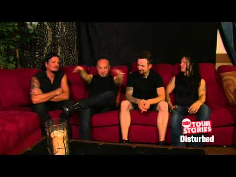 Disturbed on enthusiastic female fans & their tour bus on Cinemax Tour Stories (Cinemax)