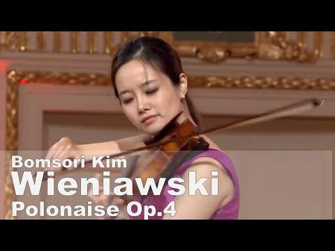 Wieniawski Polonaise in D major, Op.4 - Bomsori Kim 김봄소리