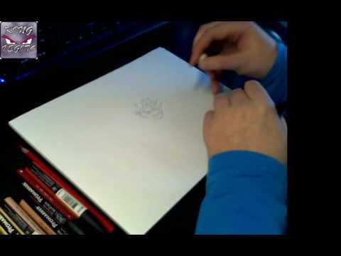 Drawing Bardock The father of Goku