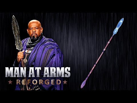Zuri's Spear - Black Panther - MAN AT ARMS: REFORGED
