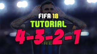 FIFA 18 - GUIDA AL 4-3-2-1: MIGLIORE MODULO PER IBRIDE (TATTICHE PERSONALIZZATE E ISTRUZIONI)