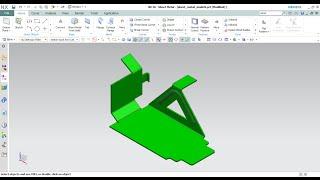 Siemens NX10 Sheet Metal:Tutorial 03