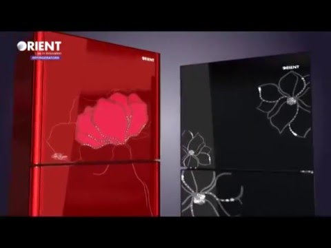 Orient Glass Door Refrigerator