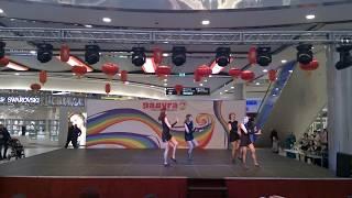 Мюзикл джаз. Выступление учениц Анны Золотаревой (СПб)