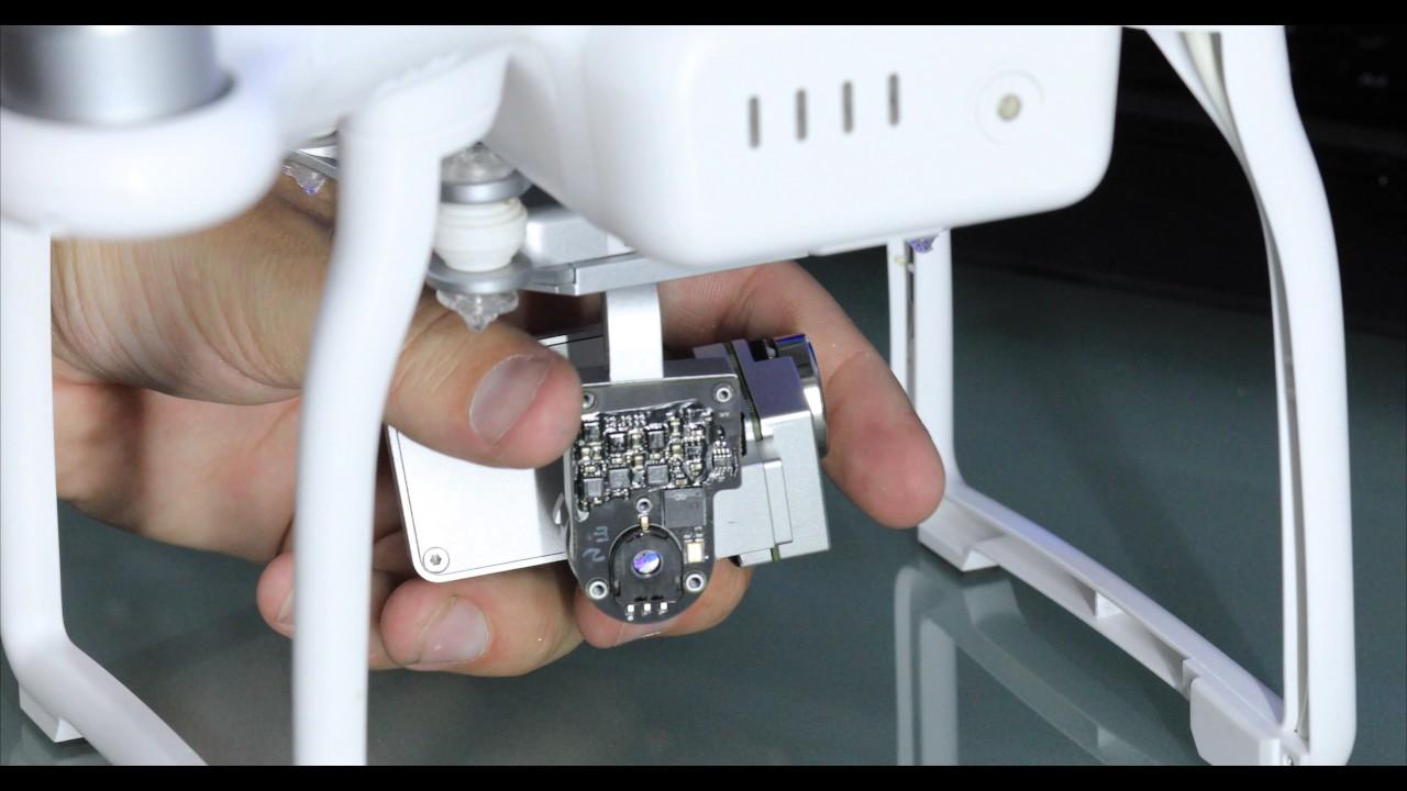 dji phantom 3 gimbal motor overload camera fix - youtube