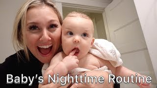 OUR BABY NIGHTTIME ROUTINE
