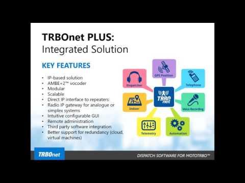 TRBOnet PLUS Webinar,  September 29th 2016