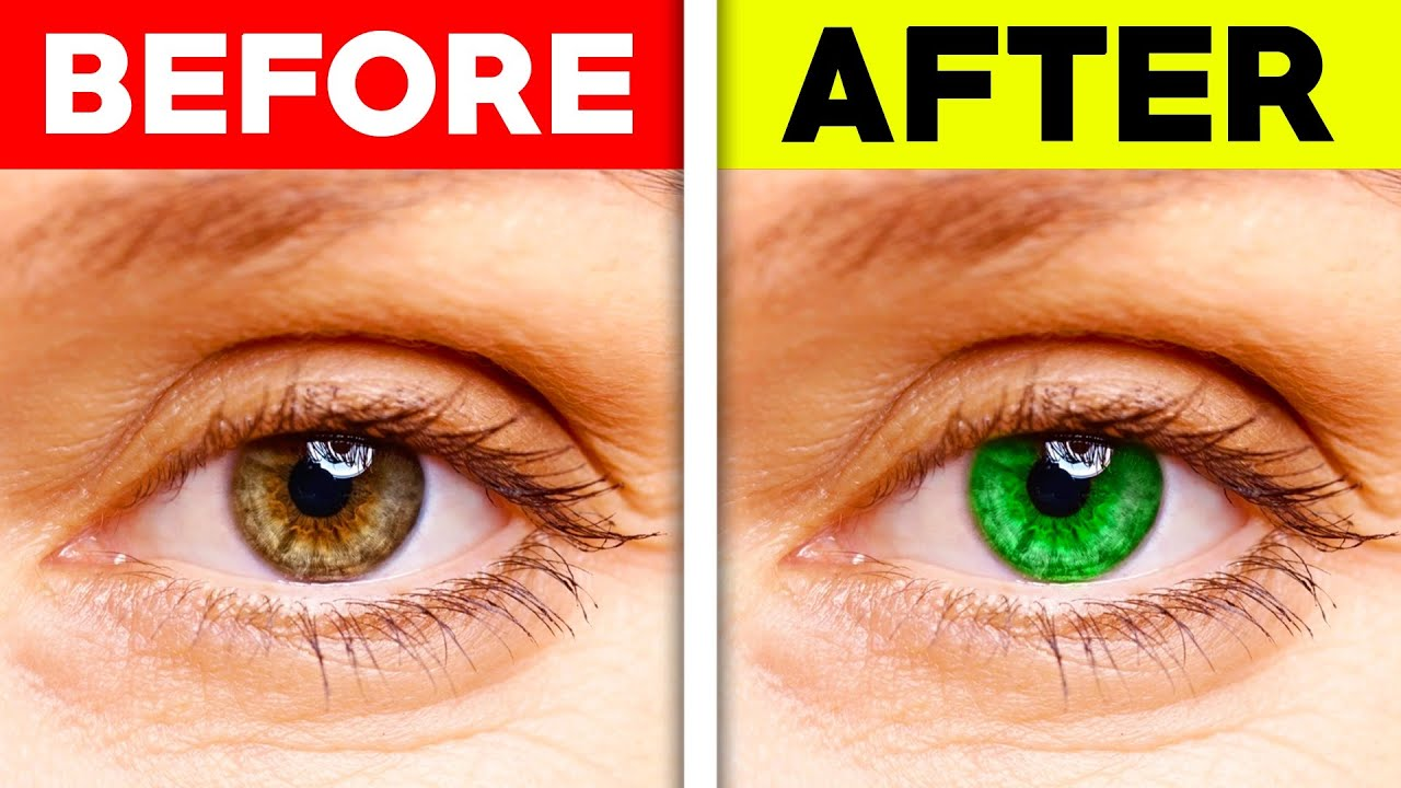 This Video Will Make Your Eyes Change Color..