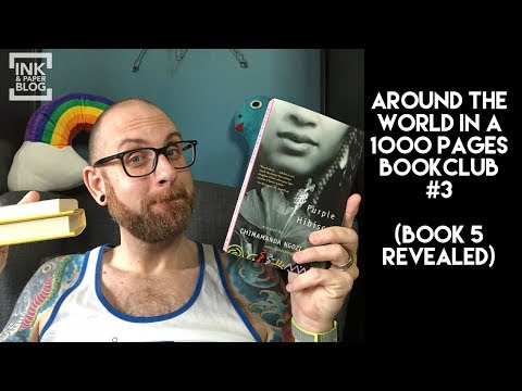 Around the World in 1000 Pages Book Club # 3