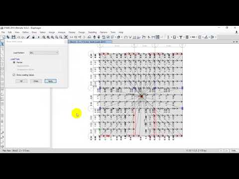Etabs Design Of Tall Building 0103 Youtube