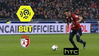 But Yassine BENZIA (38') / Olympique Lyonnais - LOSC (1-2) -  / 2016-17