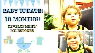 Baby Update and Toddler Development | 18 months