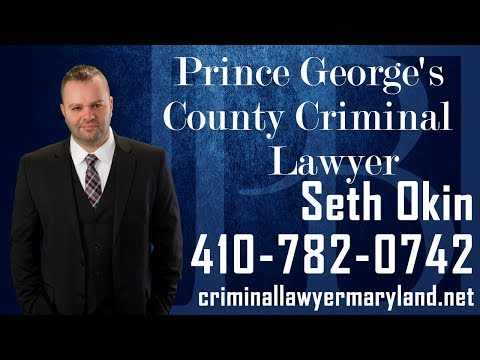Seth Okin, a criminal attorney in Maryland, discusses criminal charges in Prince George's County.