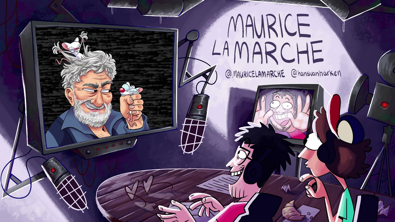 PodScum #1 ft. Maurice LaMarche (Pinky and the Brain)