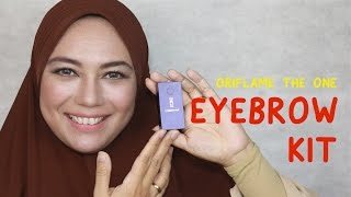 review The One Eyebrow Kit Oriflame