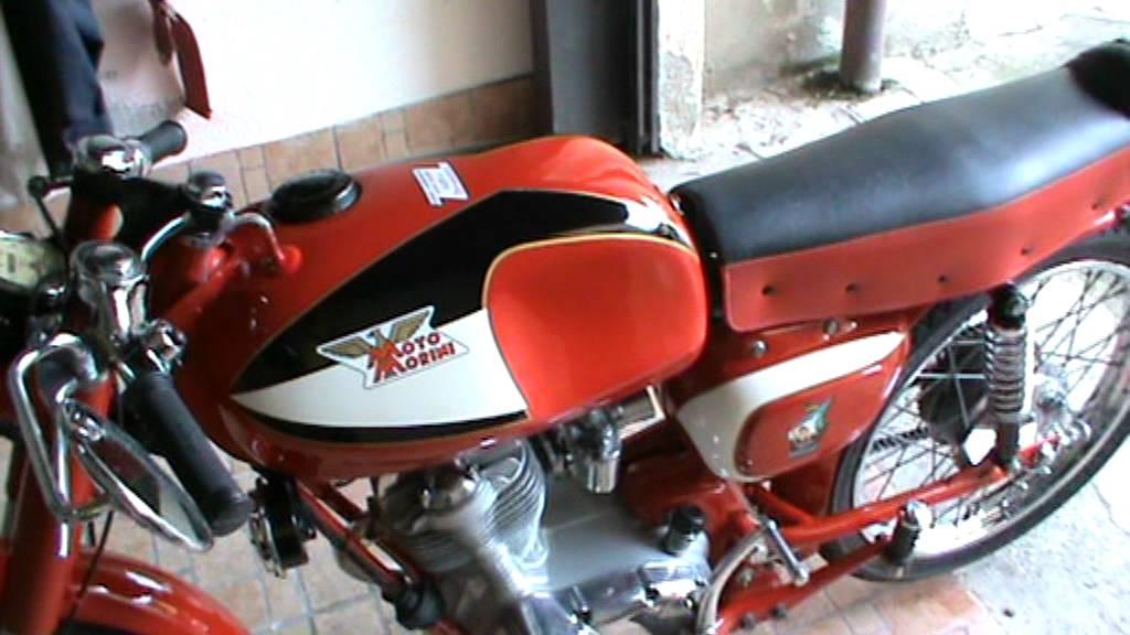 Moto Morini corsaro veloce 125 del 1963 - YouTube