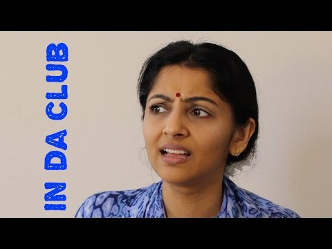 Sailaja reads IN DA CLUB by 50 cent lyrics