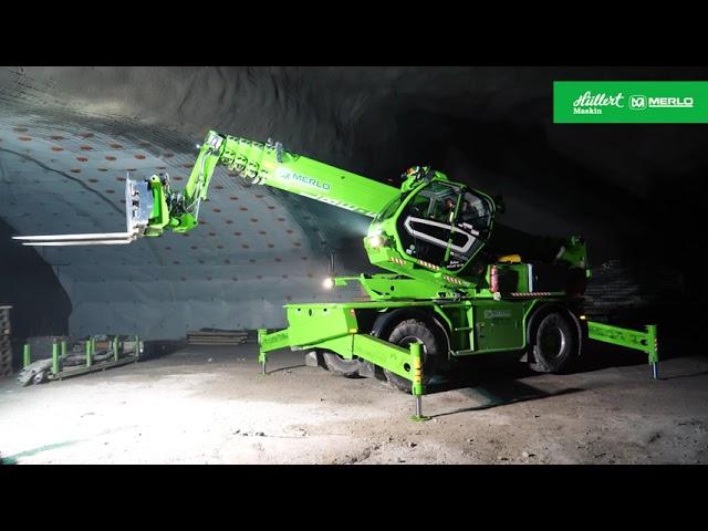 Merlo Roto 50.30 i tunnlarna under Stockholm