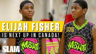 Elijah Fisher is the NEXT STAR from Canada! 🇨🇦 | SLAM Highlights