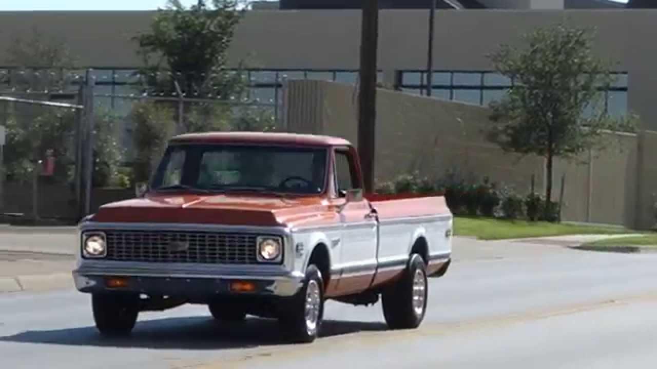 All Chevy 1972 chevrolet cheyenne super : 1972 Chevrolet C-10 Cheyenne Super Pickup Truck - YouTube
