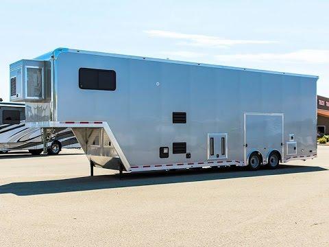 2016 Atc Quest Garage Unit Trailer Transwest Truck
