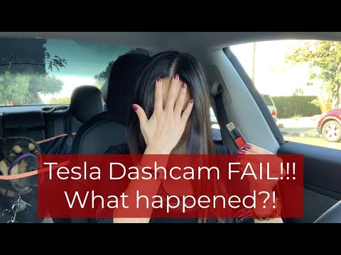 How To Avoid And Fix Tesla Model 3 Gray X Dashcam Fail