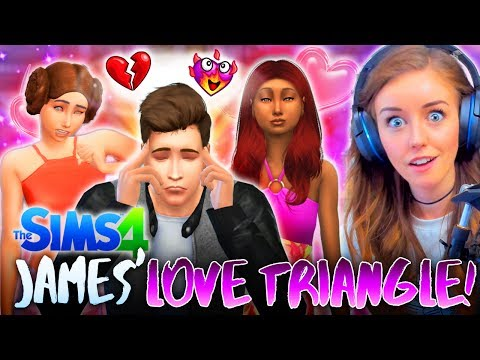 ❤JAMES' LOVE TRIANGLE!🔺 (The Sims 4 #25! 🏡)