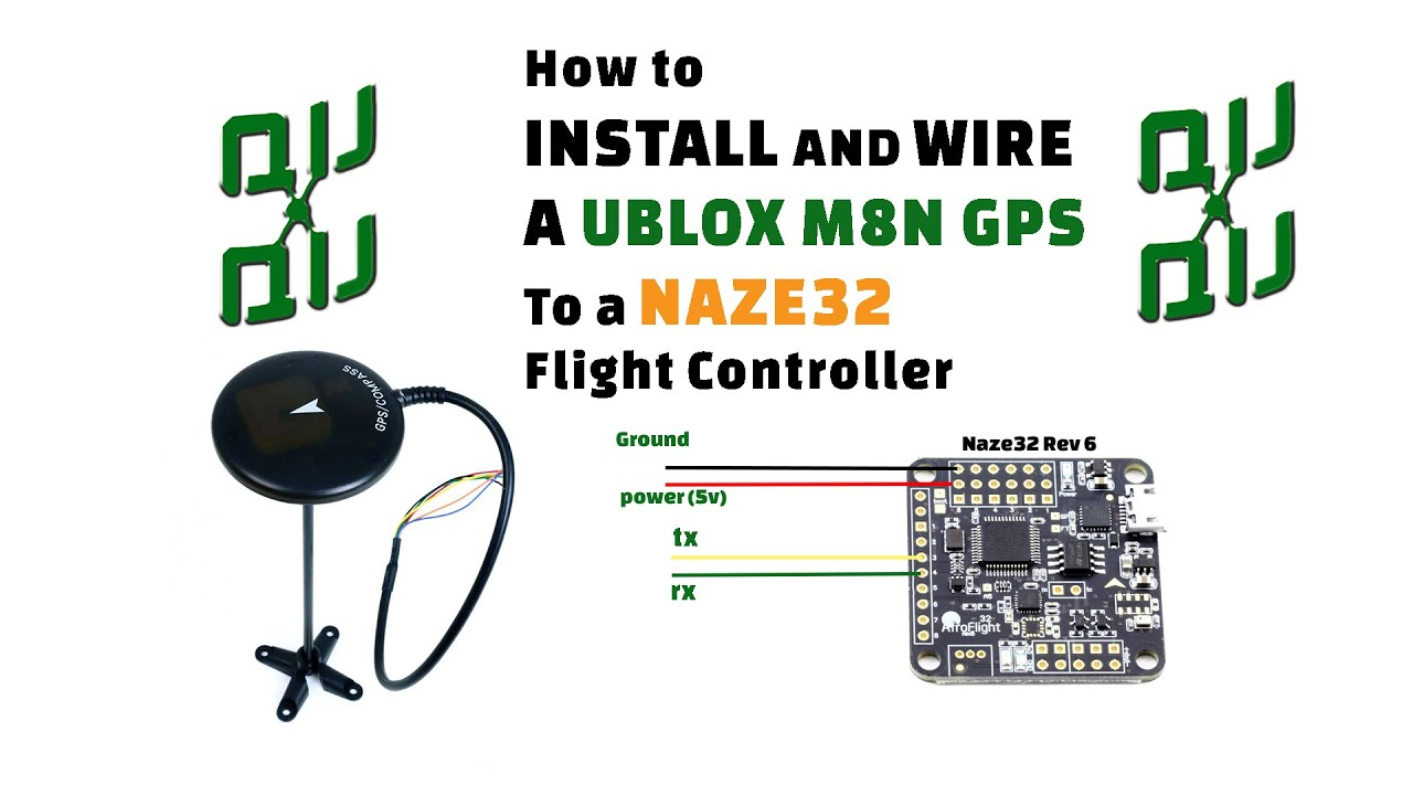 How To Setup A Holy Bro M8n Gps Compass Unit With A Naze32 Flight Controller Running Cleanflight