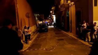 Uomo con fucile in via Bovio a Palo del Colle