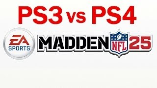 Madden NFL 25 - PS3 vs PS4 Comparison Video