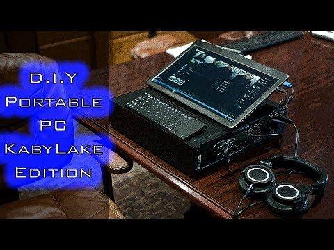 DIY Portable PC in Silverstone Milo (SFF Build)