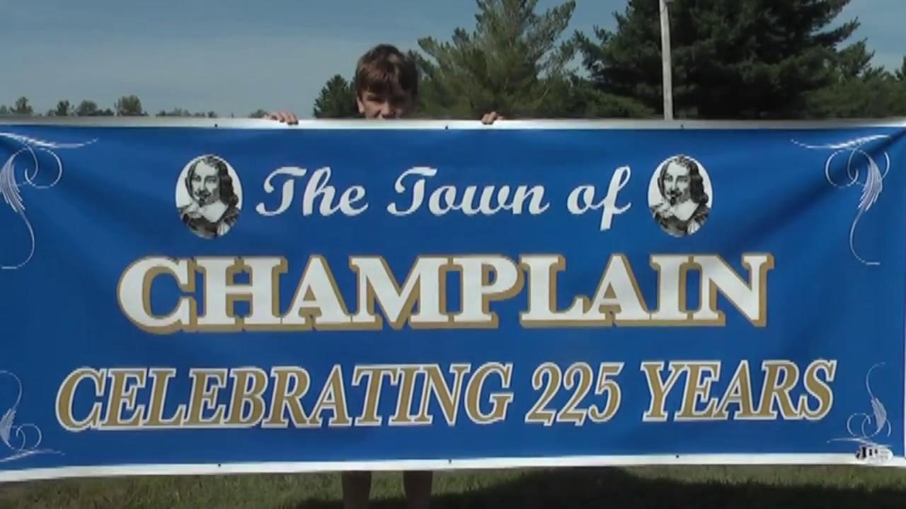 Champlain Town 225th Promo  7-31-13