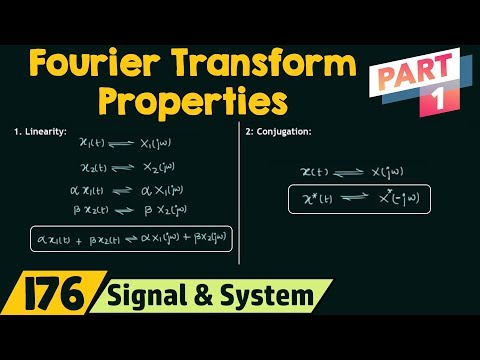 Properties of Fourier Transform (Part 1)