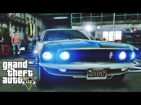 Ford Mustang Boss 302 🚗 GTA V ☢ Redux Extreme Graphics !!!