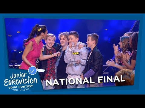 Fource will represent The Netherlands at Junior Eurovision 2017