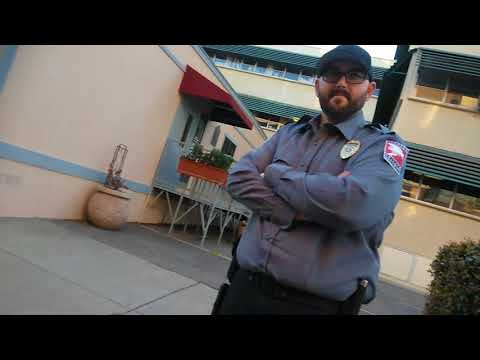 Modesto, Security smack down... (Little creepy, but he was an ok guy)