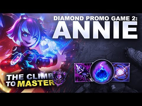 DIAMOND PROMO GAME 2: ANNIE - Climb to Master S9 | League of Legends thumbnail