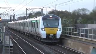 Trains @ Mill Hill Broadway Station 19/04/2017